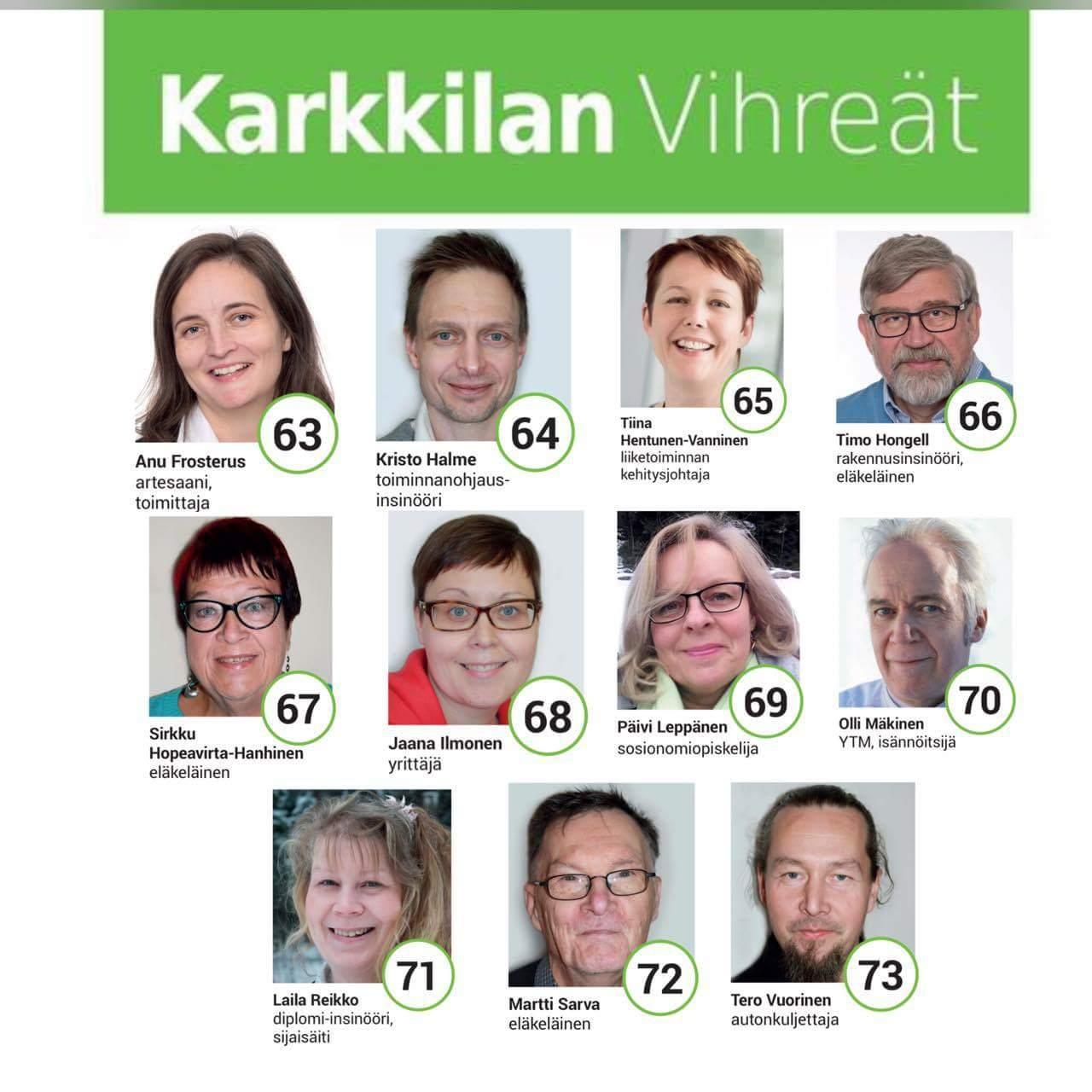 Ehdokkaat 2017