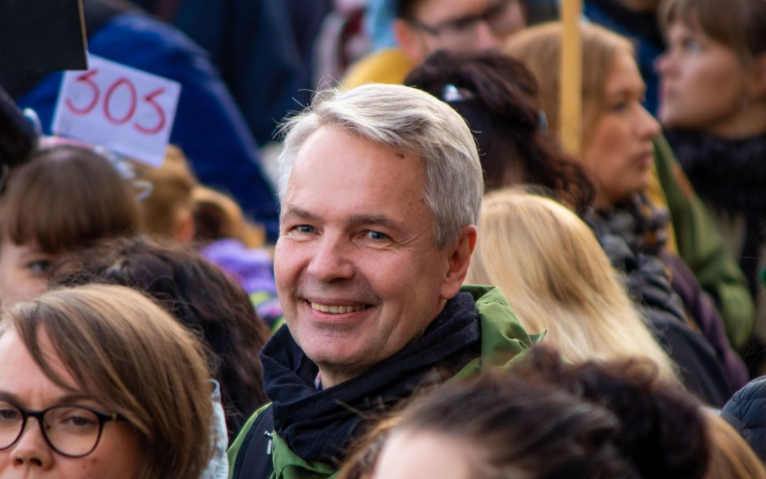 Pekka Haavisto kampanjastartissa: Eduskuntavaalit ovat ilmaston, koulutuksen ja tasa-arvon vaalit