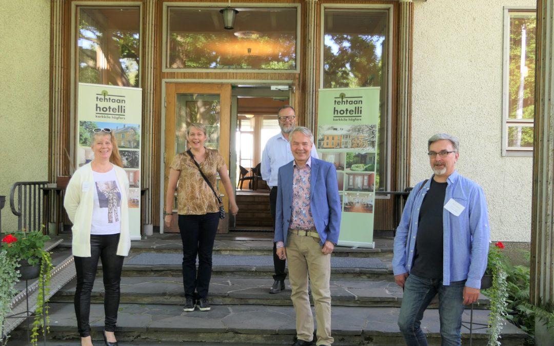 Uudenmaan Vihreiden kesäpäivää vietettiin Karkkilassa lauantaina 15.8.